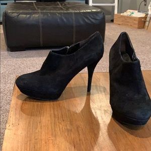 Marc Fisher black booties